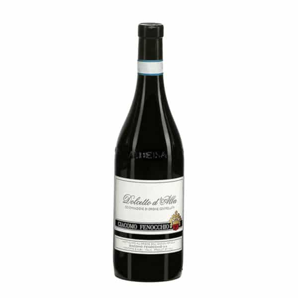 vin italien rouge leger fruite dolcetto d'albaa
