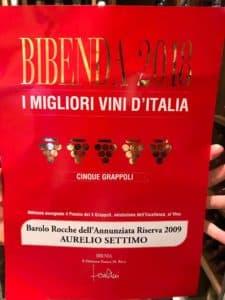 vin italien barolo settimo pour winebox prestige