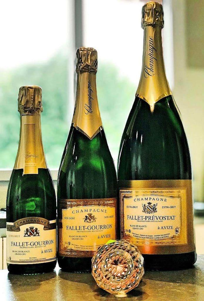 un grand cru de champagne fallet gourron oenologie