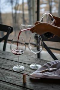 degustation vin carafe winebox prestige
