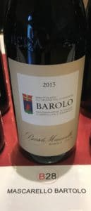 barolo bartolo mascarello vin italien