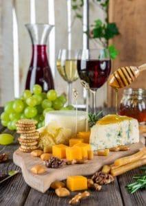 accords mets et vins fromages par winebox prestige